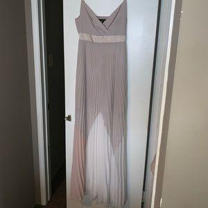 Chiffon BCBG evening gown